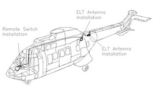 Artex C406-N HM Emergency Locator Transmitter (ELT) System